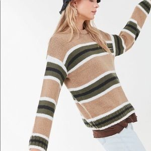 UO Striped Knit Sweater